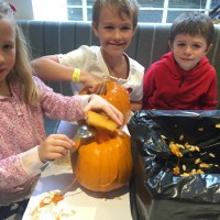 Pumpkin Fun in the Cafe 5