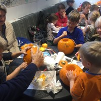 Pumpkin Fun in the Cafe 6