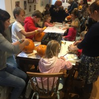 Pumpkin Fun in the Cafe 1