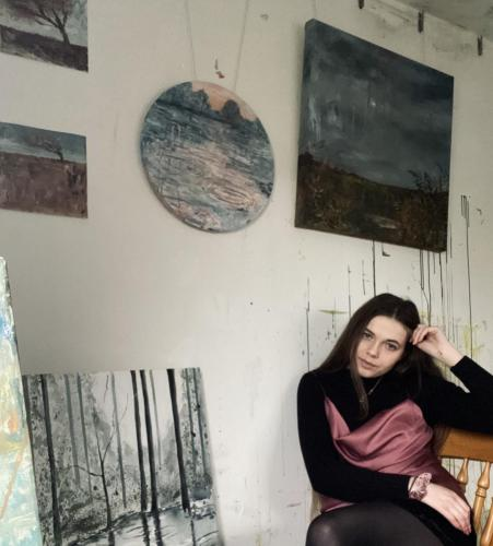 Jessie Wybrew  -  Tuesday 16 February, 6pm  -  Painter / Visual Artist